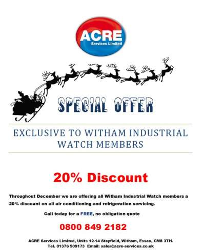 Acre services special offer